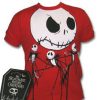 TSHIRT - Nightmare Jack Skull, red