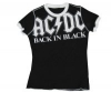 TSHIRT - ACDC Back in Black schwarz